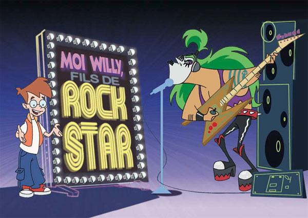 Moi Willy fils de rock star Saison 1