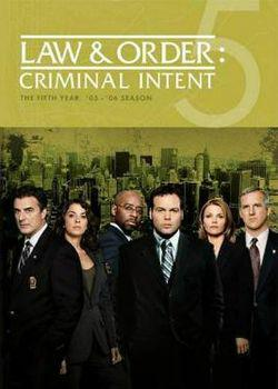 Law And Order: Criminal Intent – Saison 5