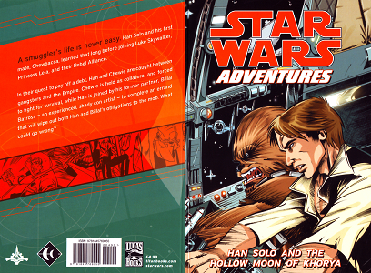 Star Wars Adventures - Tome 1 - Han Solo and the Hollow Moon of Khorya