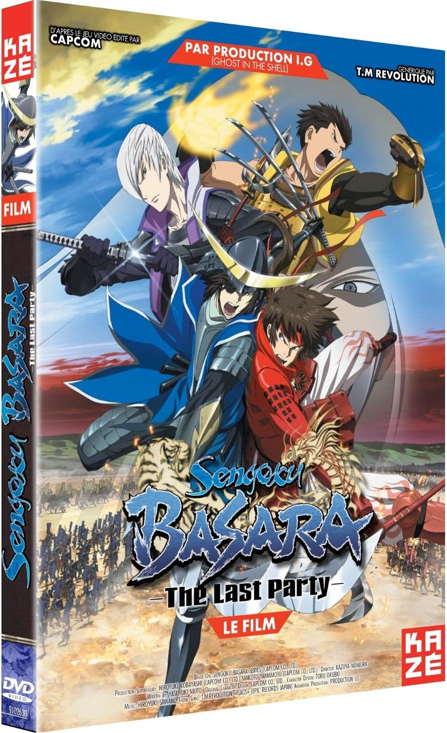 [MULTI] Sengoku Basara - Film - The Last Party |VOSTFR| [HDRip 1080p]