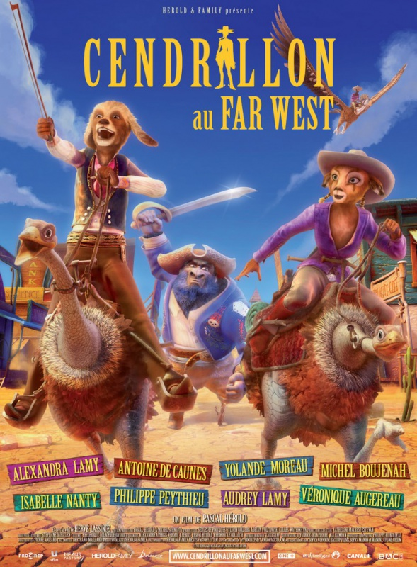 Cendrillon au Far West [FRENCH] [BDRIP] [MULTI]