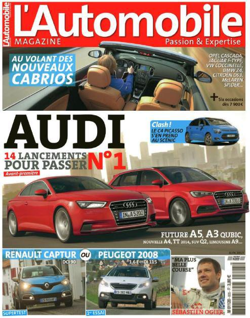 [MULTI] L'Automobile Magazine N°805 juin 2013