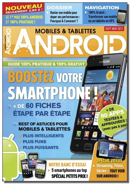 Android Mobiles et Tablettes N°10 - Sept Oct Nov 2011