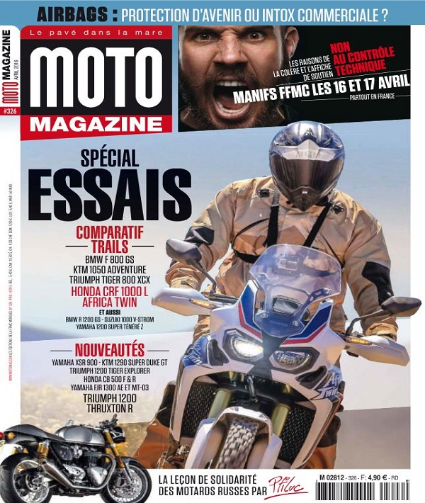 télécharger Moto Magazine N°326 - Avril 2016
