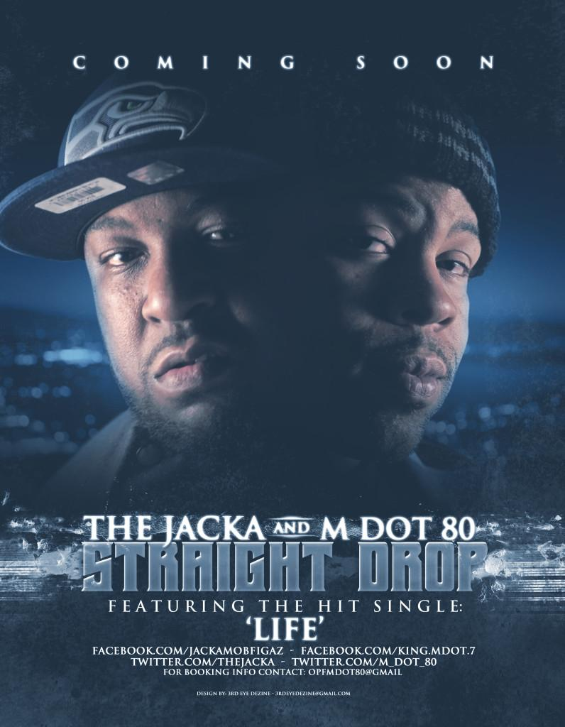 The Jacka And M Dot 80 - Straight Drop (2013) [MULTI]