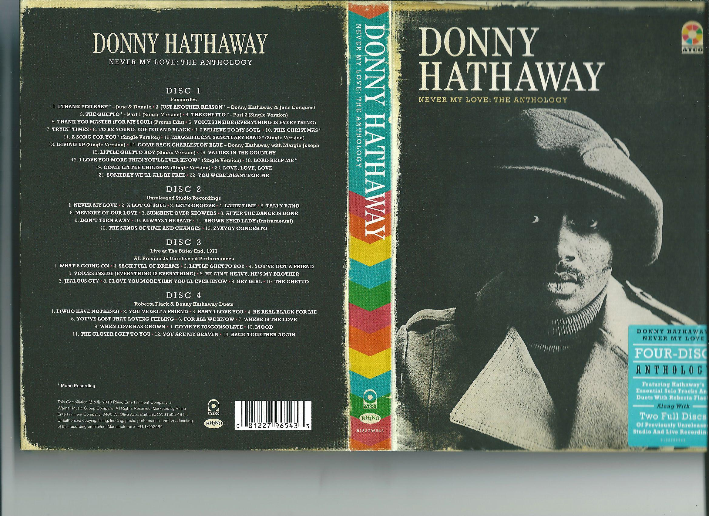 Donny Hathaway - Never My Love: The Anthology (2013) [MULTI]
