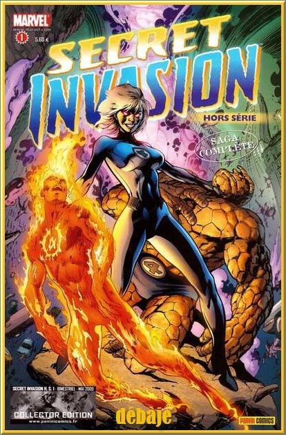 Secret Invasion 40 Tomes + 3 HS CBR HD [COMIC][MULTI]