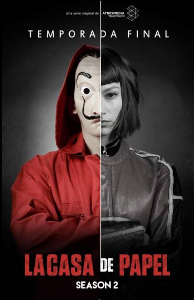 La Casa de papel - Saison 2 [COMPLETE] [09/09] FRENCH | Qualité HD 720p