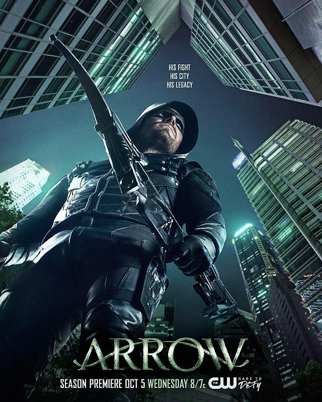 Arrow Saison 5 Vostfr
