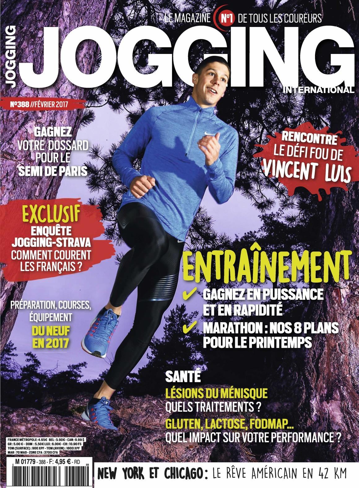 Jogging International N°388 - Février 2017