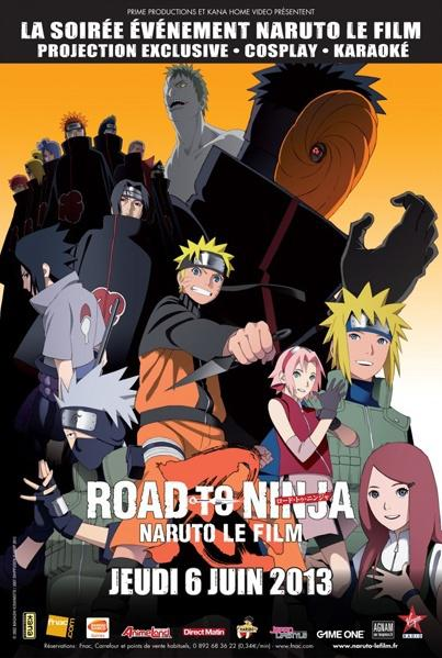 [MULTI] Naruto Shippuden - Film 06 - Road to Ninja [VOSTFR][BDRIP]