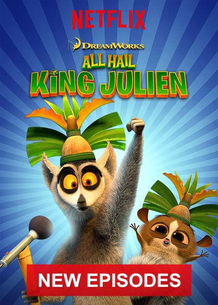 Roi Julian ! L'élu des lémurs (All Hail King Julien) – Saison 4