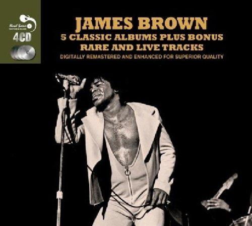 James Brown - 5 Classic Albums Plus Bonus Rare And Live Tracks (2014)