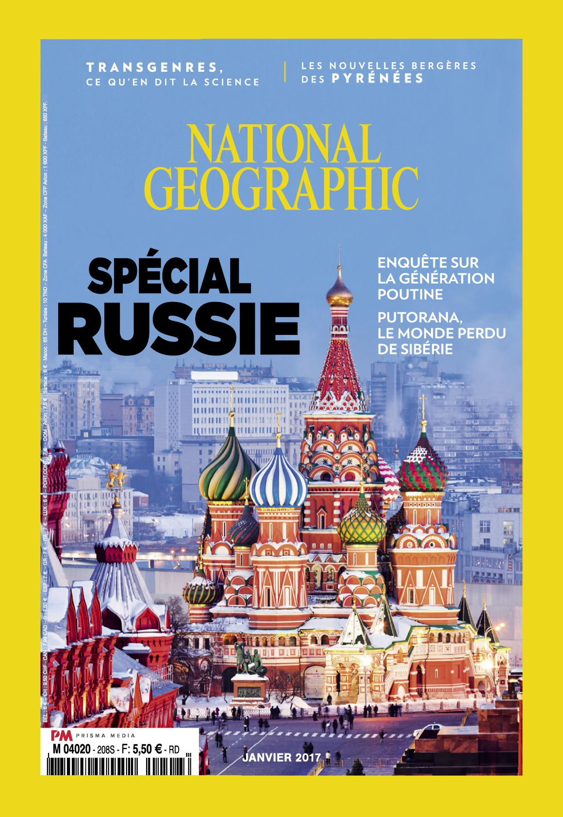 National Geographic N°208 - Janvier 2017