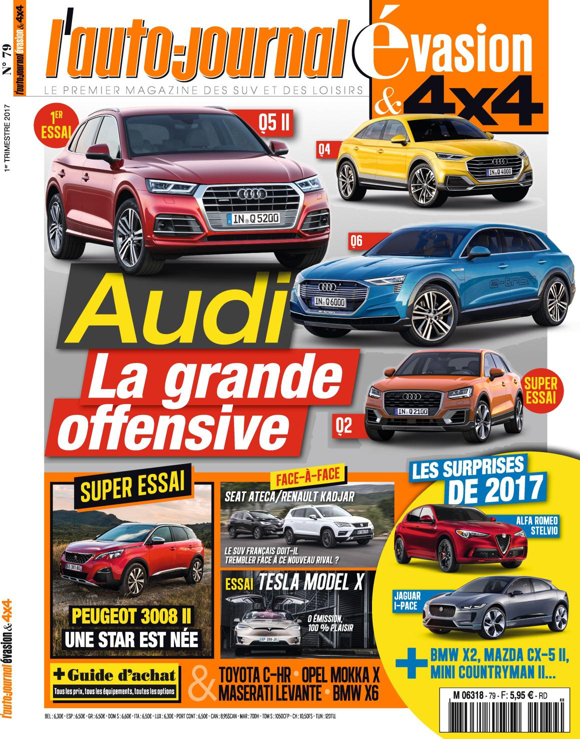 L'Auto-Journal 4x4 N°79 - 1er Trimestre 2017