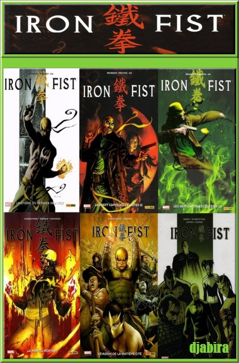 Iron Fist 33 Tomes + EXTRA CBR PDF HD [COMIC][MULTI]