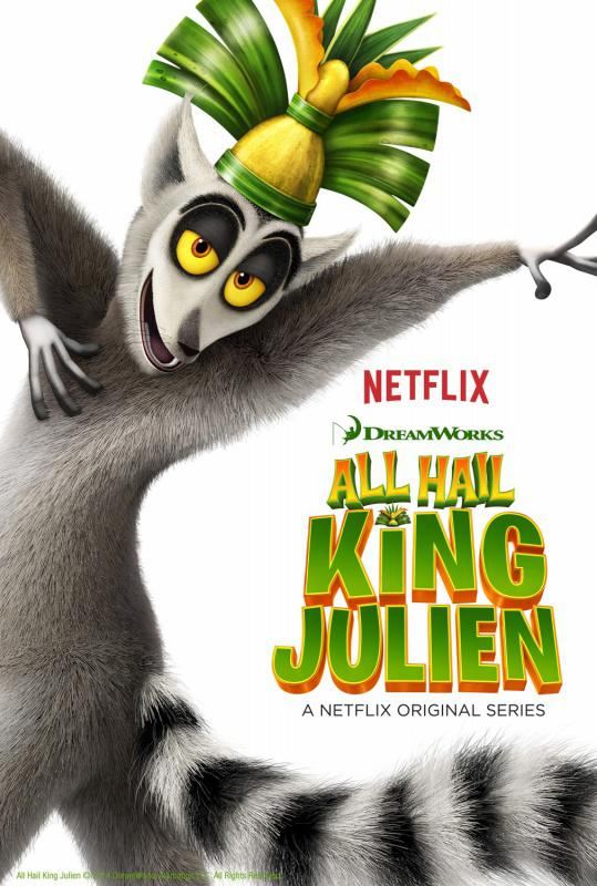 Roi Julian L'Élu Des Lemurs (All Hail King Julien) – Saison 1