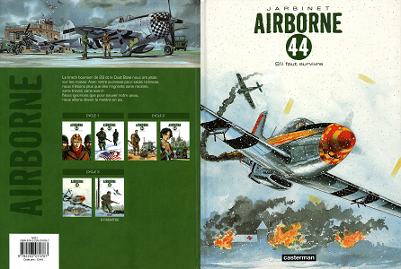 Airborne 44 - Tome 5 - S'il Faut Survivre RE UP