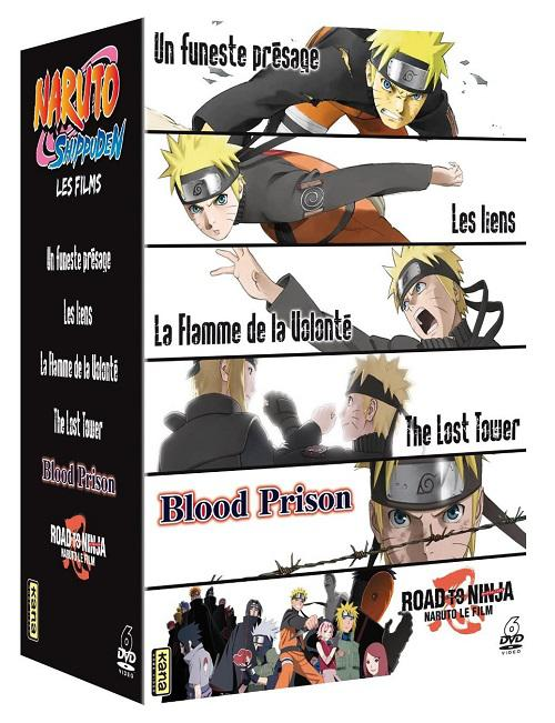 Naruto Shippuden Coffret 6 Films [MULTILANGUE] [HD720p]