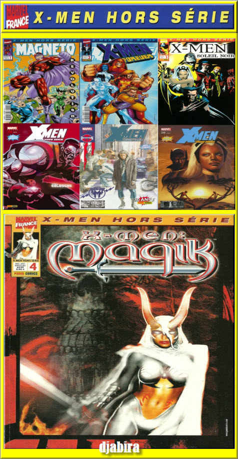 X-MEN HORS-SERIE 28 Tomes de 2001 à 2007 HD CBR PDF [COMIC][MULTI]
