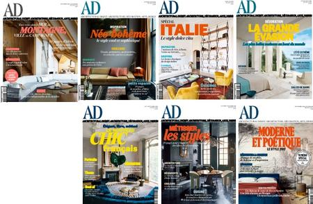 AD Architectural Digest France - Full Year 2016 Collection