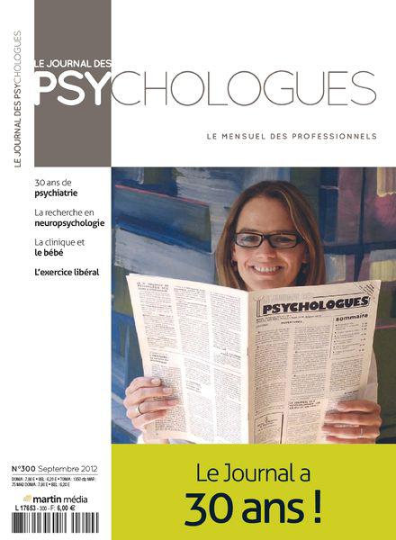 Le Journal des Psychologues No.300
