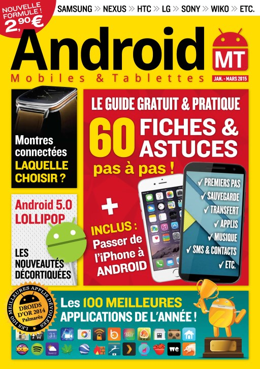 Android Mobiles et Tablettes No.28 - Janvier/Mars 2015