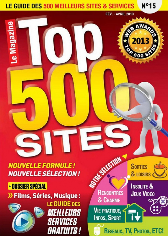 Top 500 Sites Internet No.15