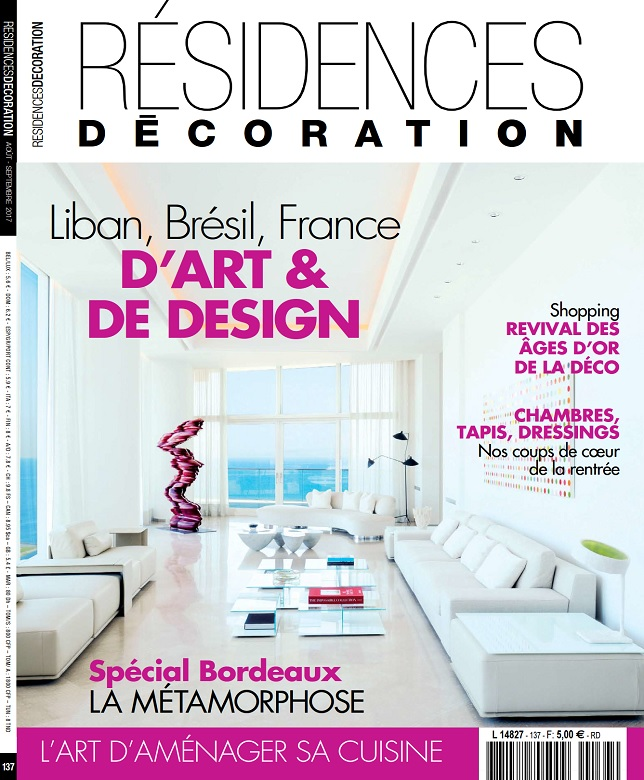 Residences Decoration N°137 - Aout-Septembre 2017