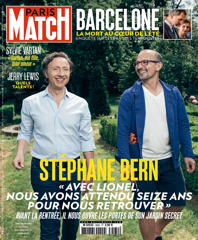 Paris Match N°3562 Du 24 au 30 Août 2017