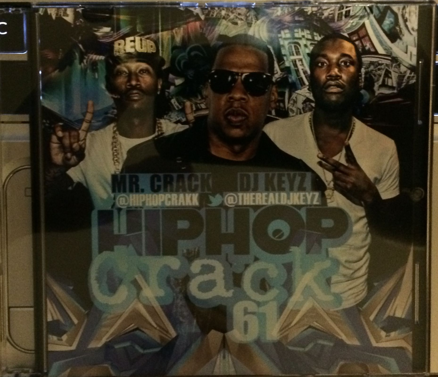 DJ Keyz And Mr. Crack - Hip-Hop Crack 61 (2014)