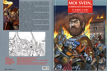 Moi Svein Compagnon d'Hasting - Tome 4 - Robert le Fort