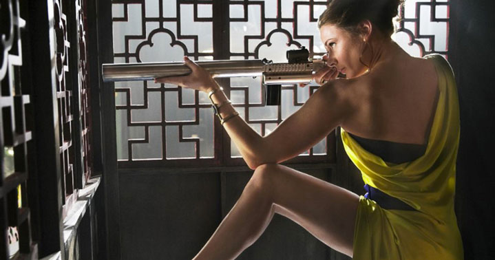 Rebecca Ferguson Mission : Impossible Rogue Nation