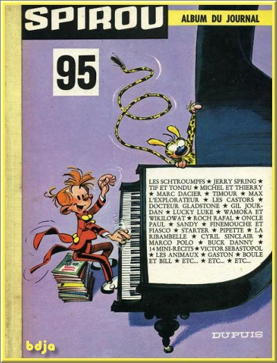 Le journal de Spirou Albums De 1962 et 1963 et 1964 HD [BD][MULTI]