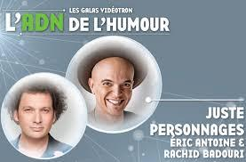 Juste Pour Rire 2017 Gala Juste Personnages