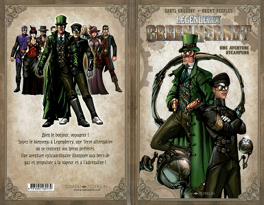 Legenderry - Tome 2 - Green Hornet sur Bookys