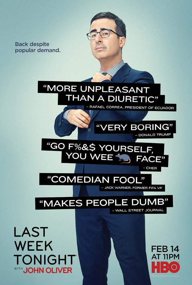 Last Week Tonight with John Oliver Saison 3 Vostfr