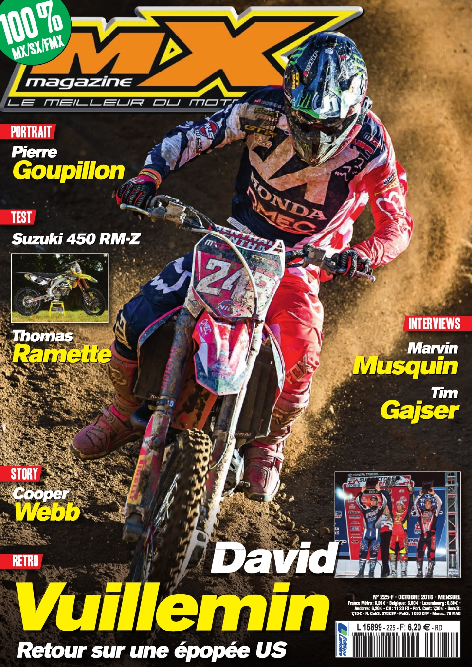 MX magazine N°225 - Octobre 2016