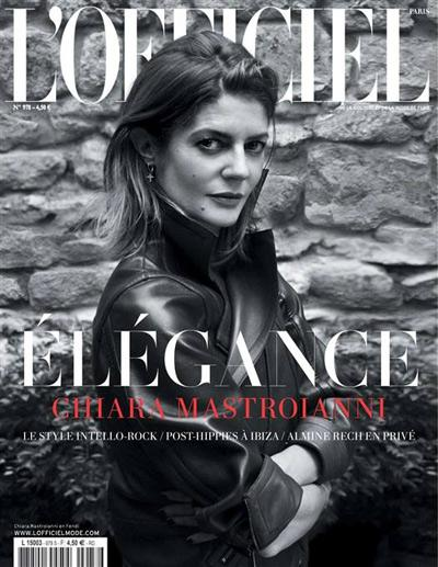 L'officiel  Septembre 2013
