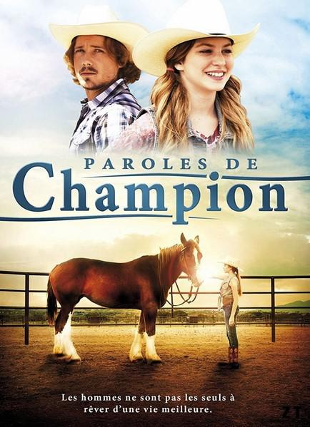 A Horse Story (Paroles de Champion)