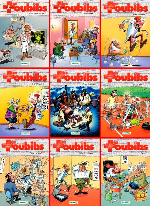 Les toubibs- 9 Tomes