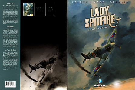 Lady Spitfire - Tome 1 - La Fille de L'air