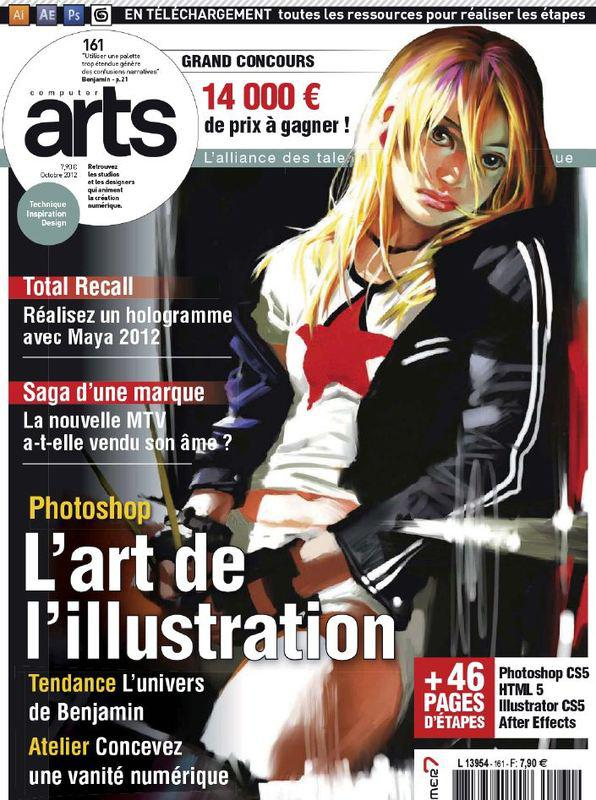 Computer Arts No.161 - l'art de l'illustration