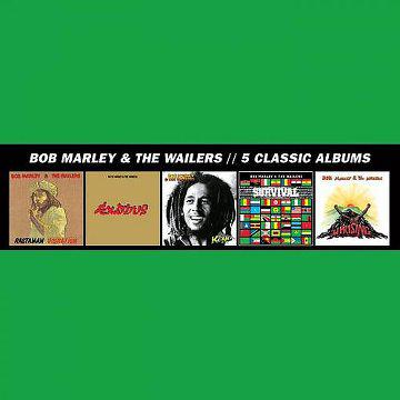 [MULTI] Bob Marley & The Wailers - 5 Classic Albums [ Box Set] (2013)