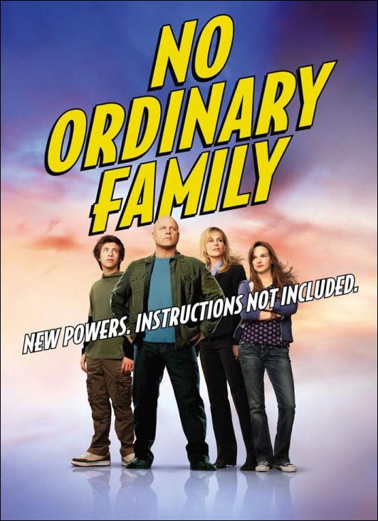 No Ordinary Family – Saison 1