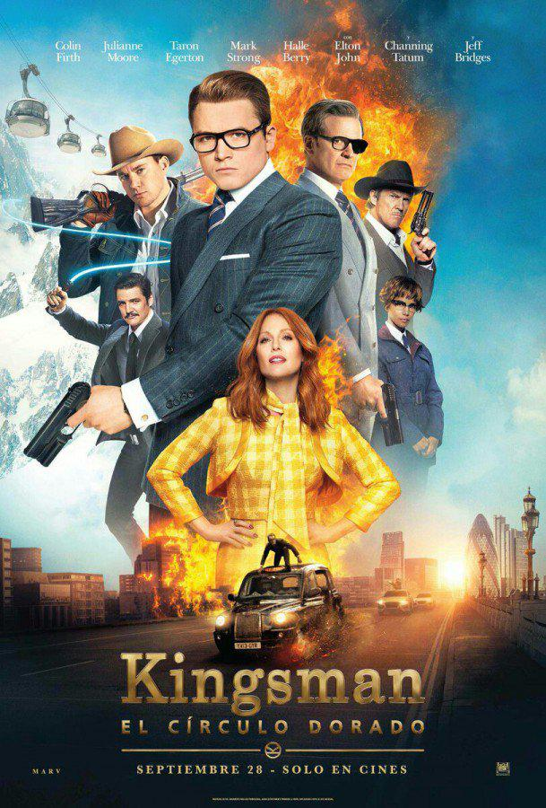 Kingsman : Le Cercle d'or (Vo)