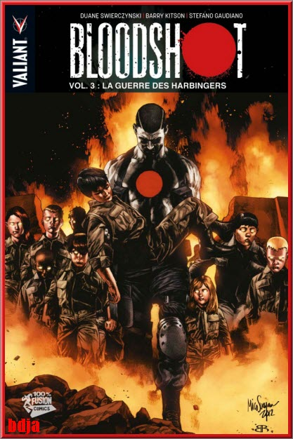 Bloodshot, Bloodshot Reborn et Harbinger Wars 9 Tomes PDF CBR HD [COMIC][MULTI]