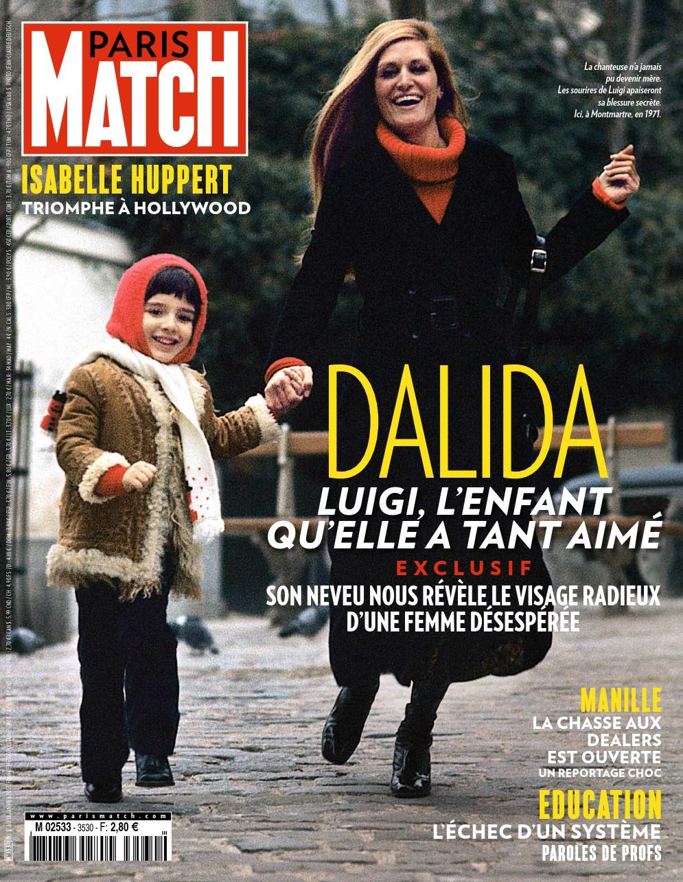 Paris Match N°3530 - 12 au 18 Janvier 2017