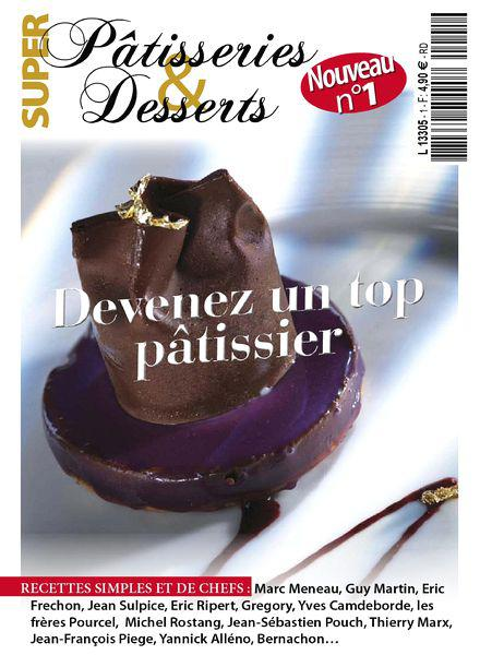 Super Patisseries & Desserts No.01