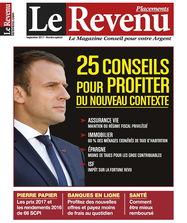 Le Revenu Placements N°175 - Septembre 2017